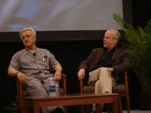 John Irving and Richard Russo at BEA 2009