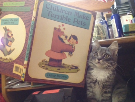 Children Make Terrible Pets, by Peter Brown.